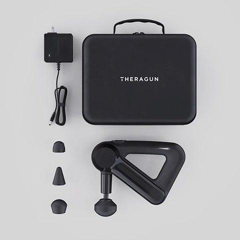 Theragun G3 Percussion Massager included parts