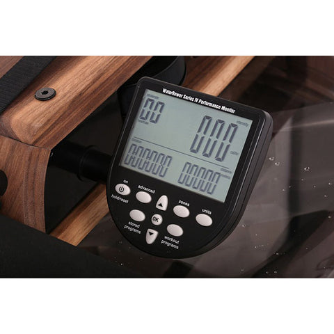 WaterRower Classic Rowing Machine with S4 Monitor display unit
