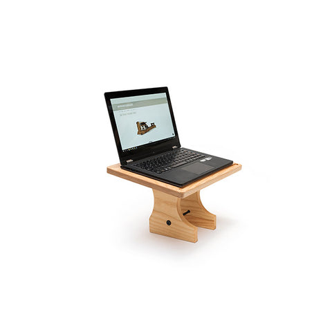 WaterRower Laptop/Tablet Stand with laptop