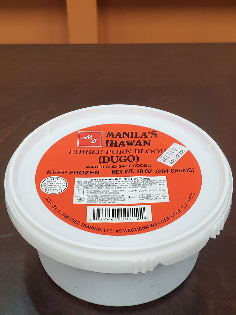 Manila Ihawan Pork Blood 10oz
