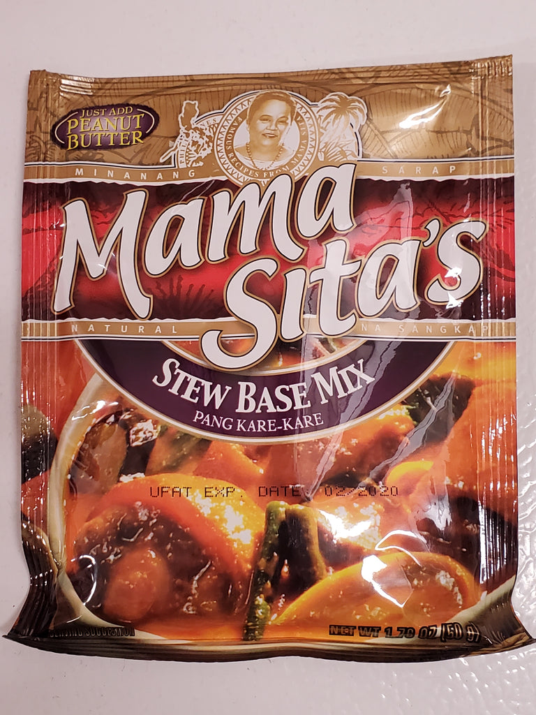 Mama Sita Stew Base Mix Kare Kare