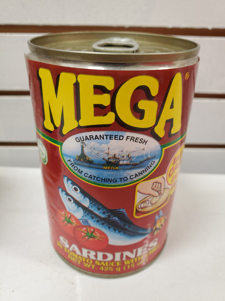 Mega Sardines in Tomato Sauce with Chili 15oz