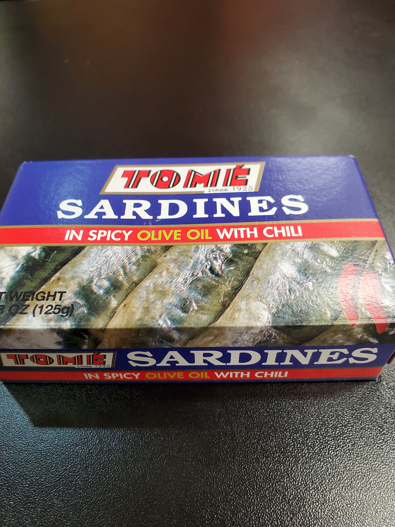 Tome sardines Spicy Olive Oil with Chili