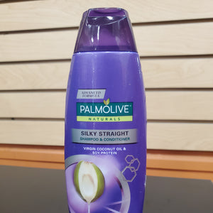 PalmOlive Silky Straight/Virgin Coco Oil Purple 180mL