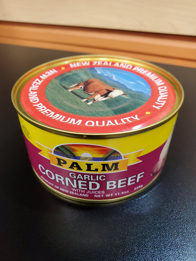 Palm Corned Beef Garlic 12oz
