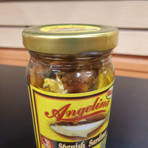 Angelina Sardines Hot & Spicy 8oz