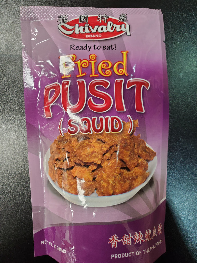 Chivalry Fried Pusit 30g