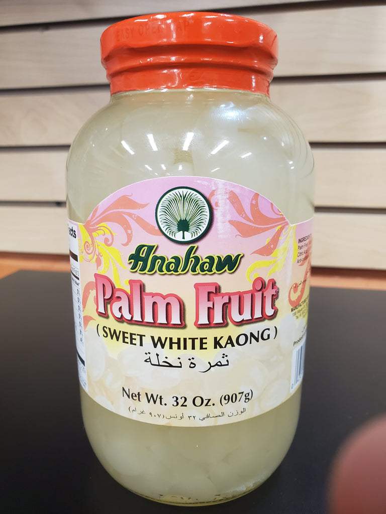 Anahaw Palm Fruit White Kaong 32oz