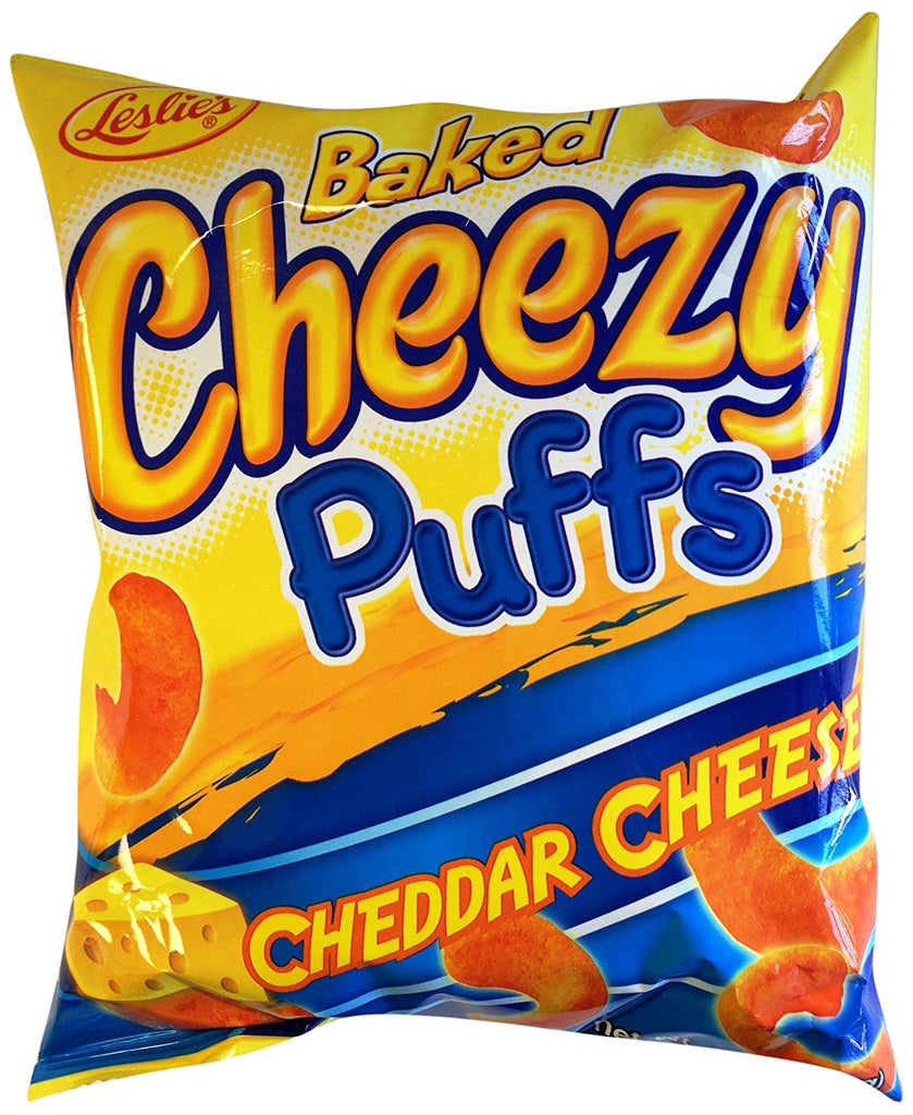 Leslie Cheezy Puff Cheddar