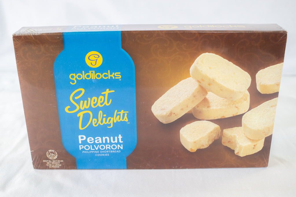 Goldilocks Polvoron Peanut Box 300g