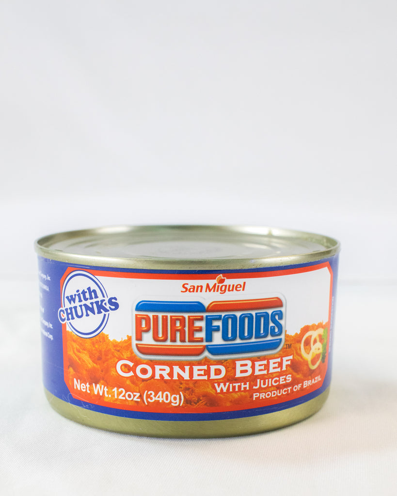 San Miguel Purefood Corned Beef with Juices