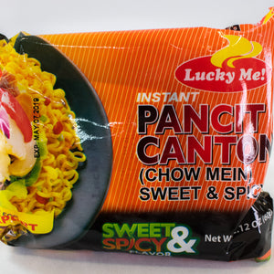 Lucky Me Pancit canton Sweet n Spicy