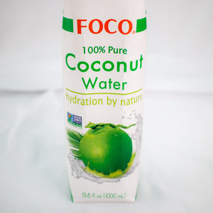 Foco Coconut Water 3 Pack