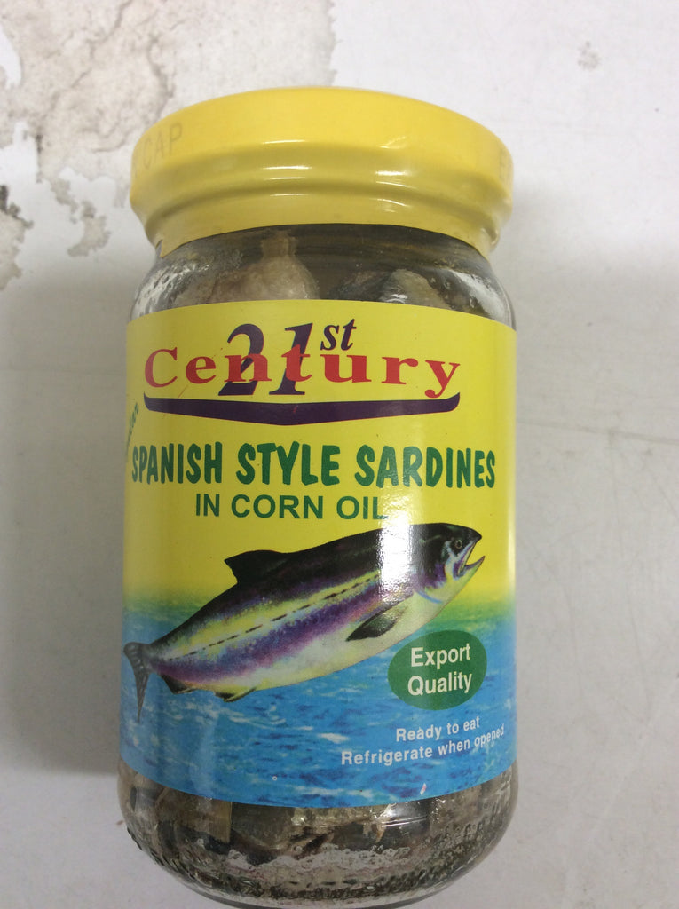21st Century Spanish Style Sardines in Corn Oil Regular