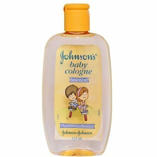 Johnsons Baby Cologne Bounce Yellow 125mL