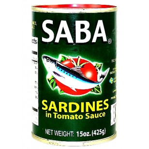 Saba Sardines in TS Big  15oz