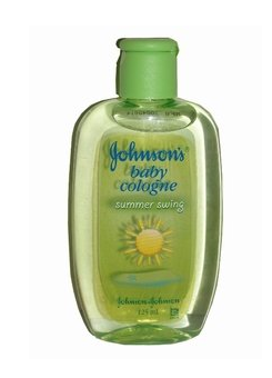 Johnsons Baby Cologne Summer Swing Green