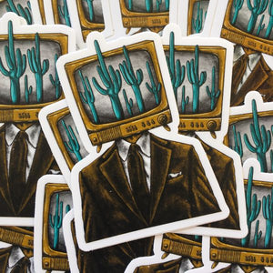 The Painted Ladies- Arizona Anchorman Sticker