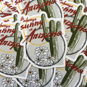 The Painted Ladies- Sunny In Arizona Sticker