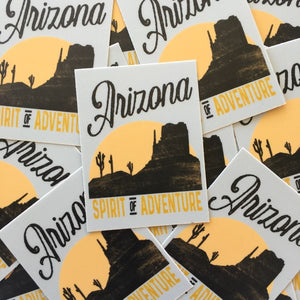 The Painted Ladies- Arizona Adventure Sticker