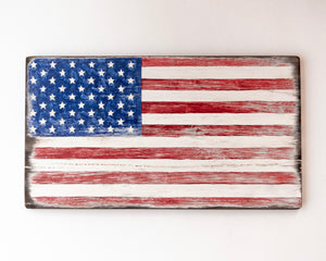 Open image in slideshow, The Painted Ladies- Rustic USA Flag