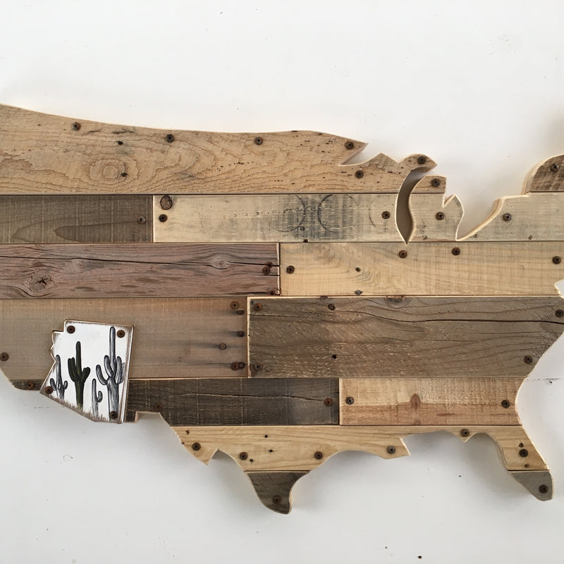 United States Silhouette Jigsaw