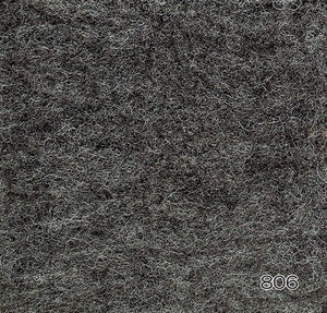 Hamanaka Natural Blend Wool Roving 40g - #806 Dark Grey