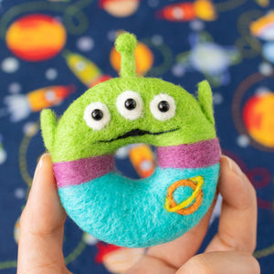 Little Green Man Kyara Donut