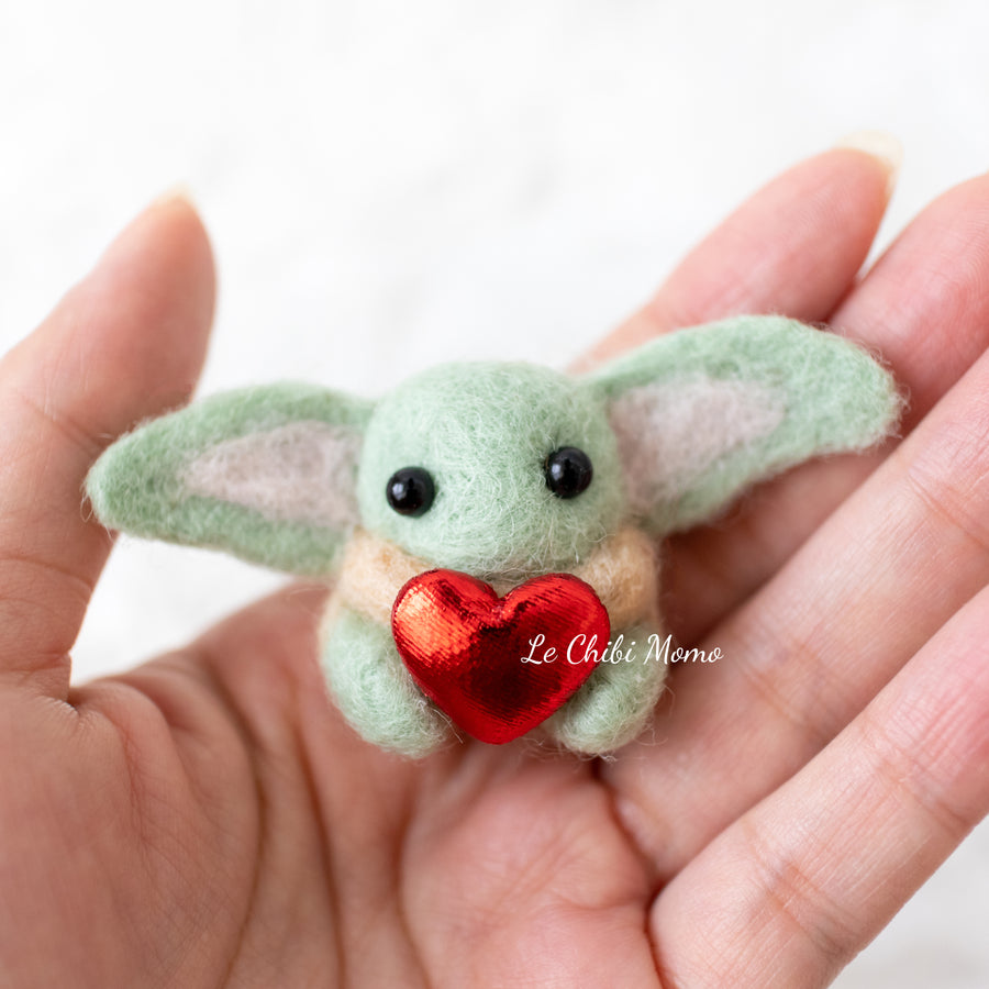 *RESERVED FOR JENNIFER: Baby Yoda Valentine