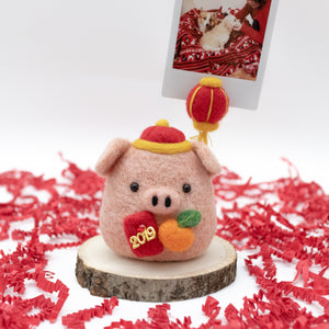 New Year Pig Photo Stand
