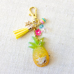 Aloha [GLOW IN THE DARK] Pineapple Charm Keychain