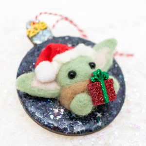 *RESERVED FOR MARGARITA: Baby Yoda Ornament