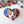 Load image into Gallery viewer, Pawtriotic Corgi Heart-shaped USA Flag Brooch