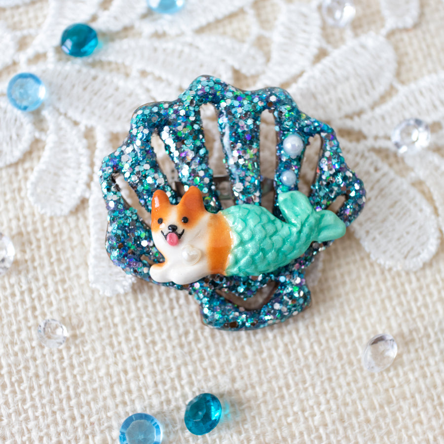 Mercorgi Sea Shell Brooch