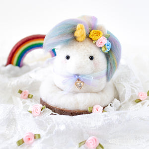 Pastel Rainbow Unicorn Photo Stand