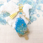 Popsicle Beach Vibe [GLOW IN DARK] Liquid Shaker Charm Keychain