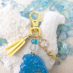 Popsicle Liquid Shaker Charm Keychain [Glows in the Dark