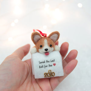 [PREORDER] TP Corgi (Red) Ornament