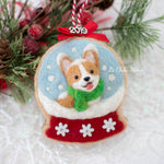 RESERVED FOR CHRISTINA: [PREORDER] Snow Globe Cookie (with Swarovski Crystals) Ornament