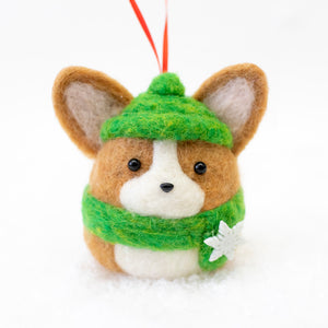 [PREORDER] Winter Corgi Ornament