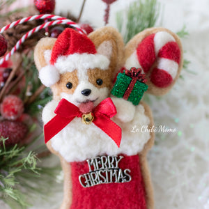 Christmas Stocking Cookie Ornament