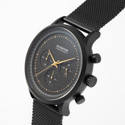 Chronograph I Black Gold - Mesh