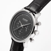 Chronograph I Black - Leather
