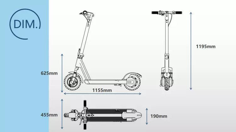 CITYPRO GS1 Electric Scooter with NFC Lock