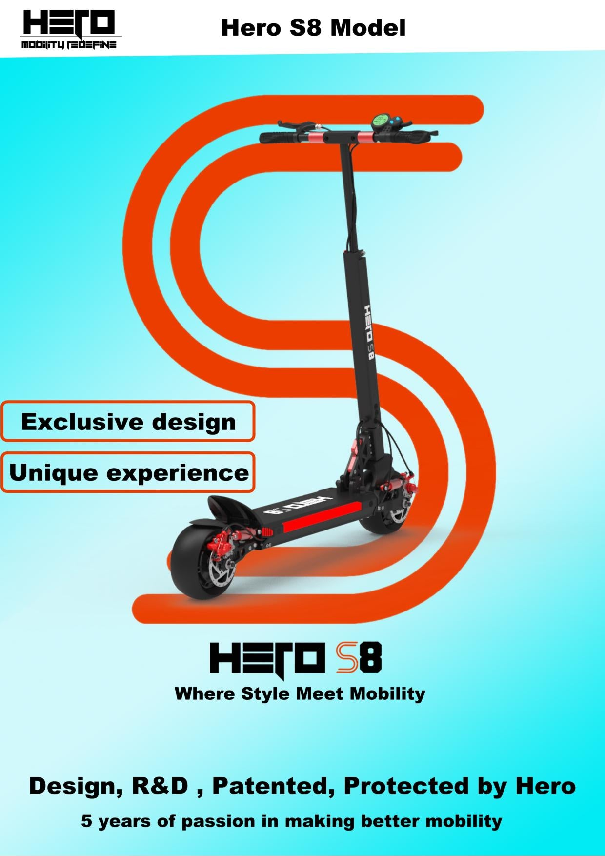 Urban Hero S8 Electric Scooter