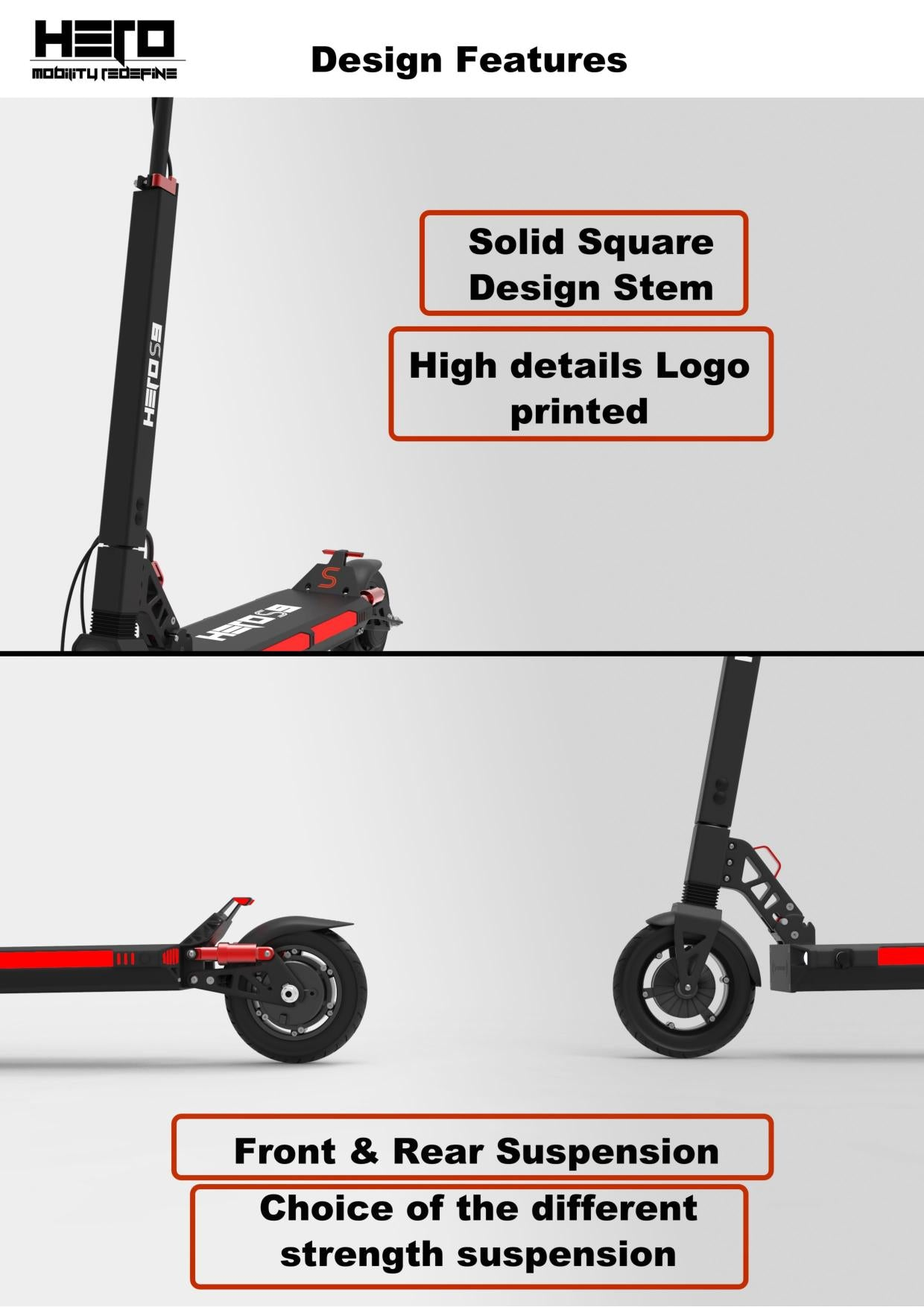 Urban Hero S9 Electric Scooter