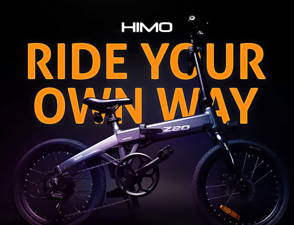 HiMo Z20 electric folding bike