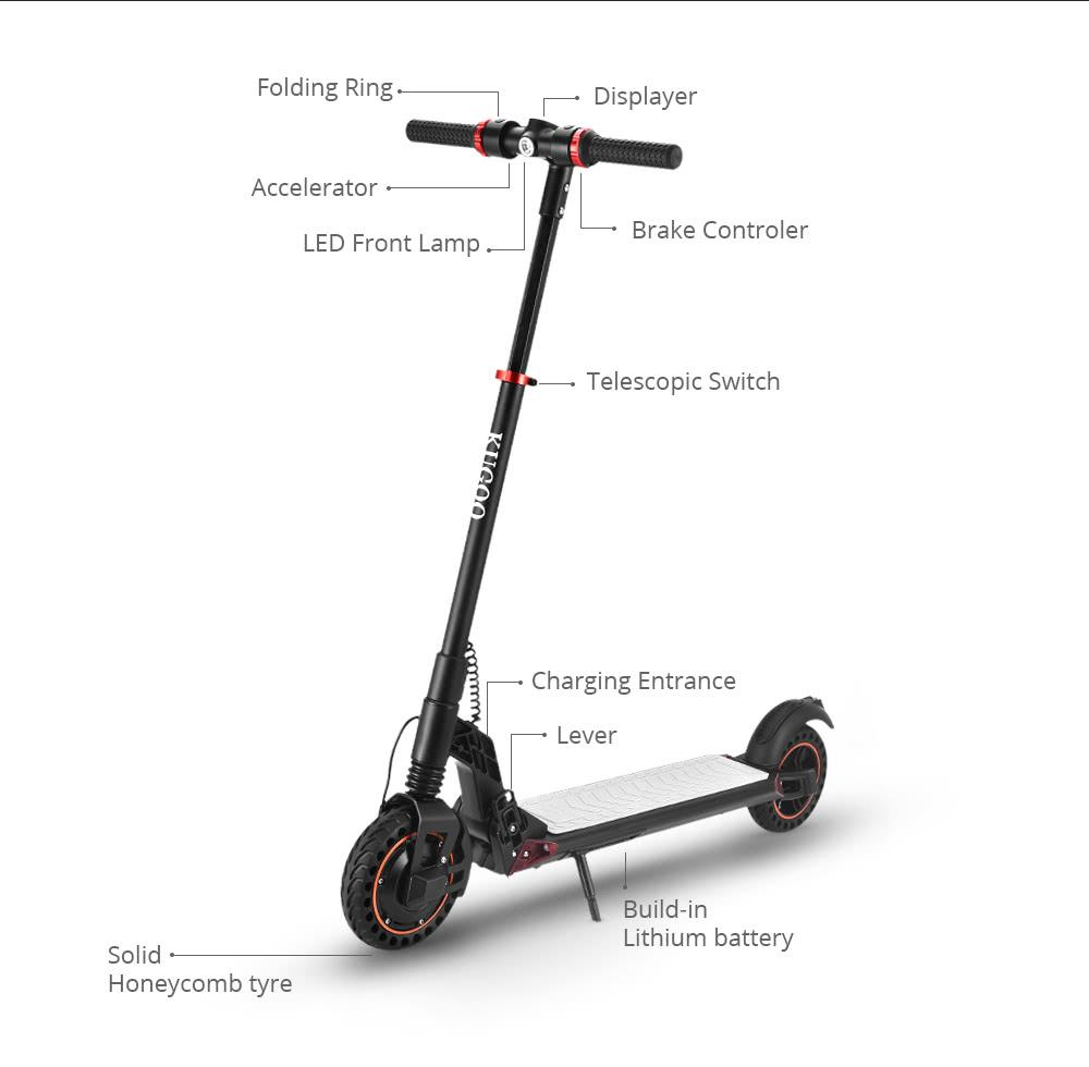 KUGOO S1 Plus Electric Scooter