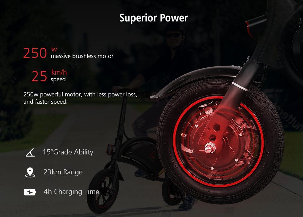 Kugoo KIRIN B1 Seated Electric Scooter