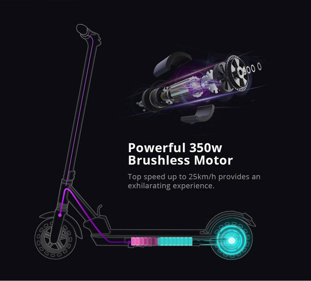 KUGOO KIRIN S1 Foldable Electric Scooter - Black